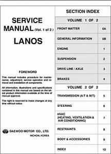 Daewoo Lanos Service Manual Download