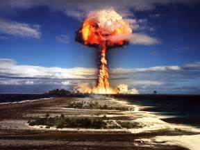 Atomic Explosion Nuclear Bomb