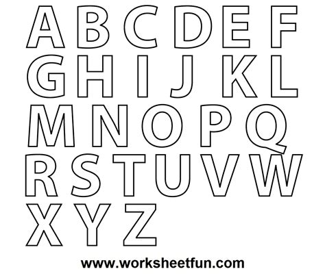 colors a to z a z alphabet coloring pages and print for free