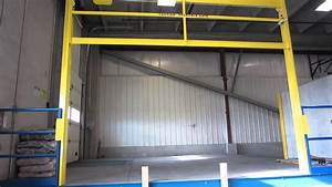 Vertical Lift Mezzanine Gate Wmv