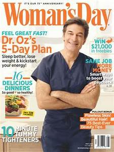 Dr. Oz is the man for a Woman's Day cover first