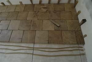 parquet massif colle sur plancher chauffant devis immediat With parquet bois debout