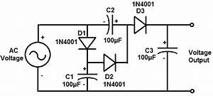how to build a voltage tripler circuit With 555 dc voltage doubler circuit