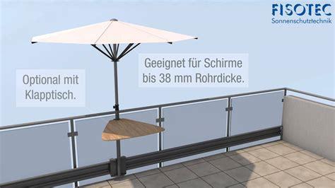 Schirm Für Balkon by Sonnenschirm Fuer Balkon