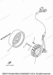 Yamaha Atv 2001 Oem Parts Diagram For Generator