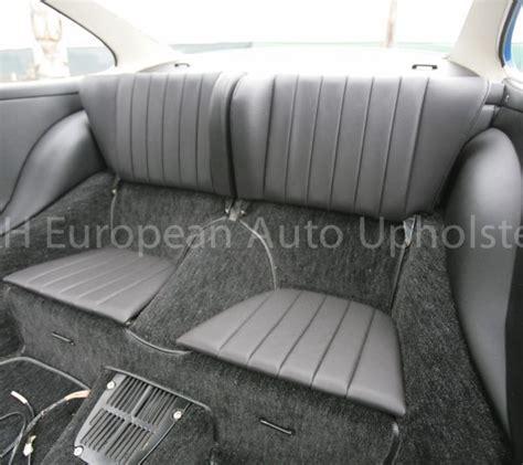 porsche 911 back seat porsche 911 rear seat cover pair k h european auto