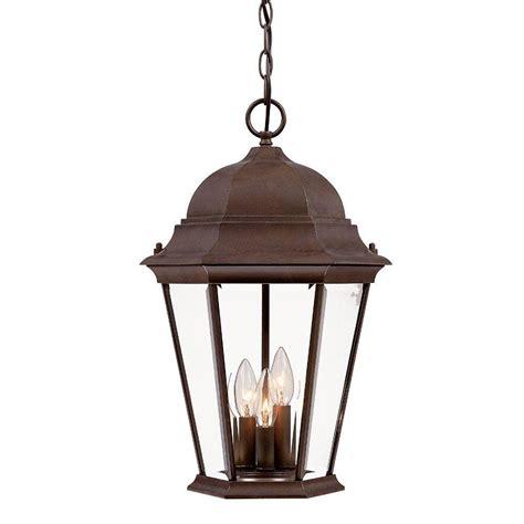 home depot outdoor hanging lights acclaim lighting richmond collection 3 light burled walnut