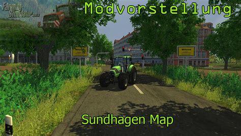 landwirtschafts simulator  mapvorstellung sundhagen