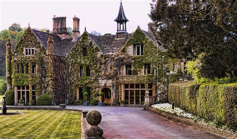 Manor House At Castle Combe Photograph by Jon Berghoff
