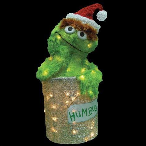 sesame street christmas decorations mouthtoears com