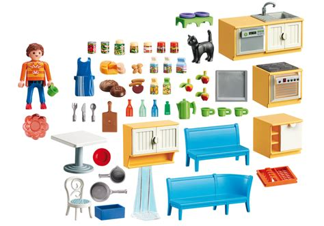 playmobil cuisine country kitchen 5336 playmobil united kingdom