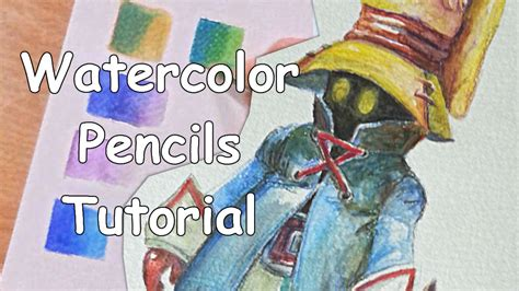 how to use water color pencils drawing tutorial how to use watercolor pencils for