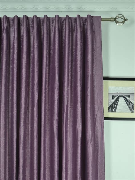 Wide Curtains by Wide Swan Europe Floral Back Tab Curtains 100 120
