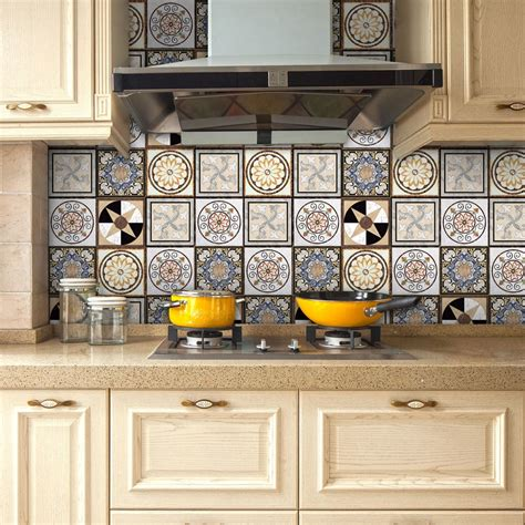 yanqiao traditional mexican talavera tiles sticker