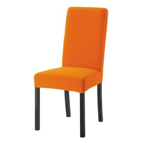 chaises orange housse de chaise orange
