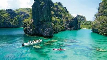 Philippines Palawan Coron Kayangan Lake Islands Wallpapers13