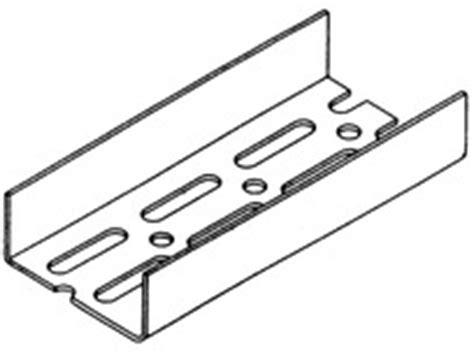 verzinktes u profil knauf trockener innenausbau trennwand erstellen