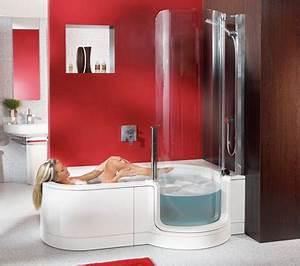 Badewanne Mit Dusche Kombiniert : dusche und badewanne behindertengerecht kombiniert ~ Sanjose-hotels-ca.com Haus und Dekorationen