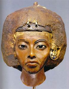 Face of Egyptian queen, nefertiti remade in 3D colour sparks race row