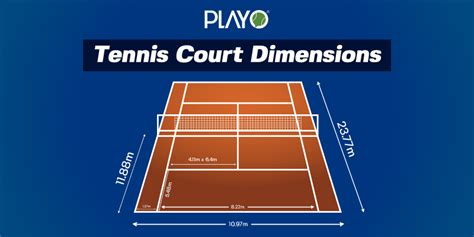 However, these courts can be installed bigger or smaller depending upon the clients'. All You Need To Know About Tennis Court Dimensions | Playo