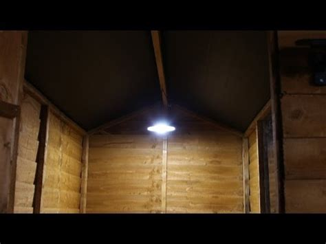 solar shed light with remote