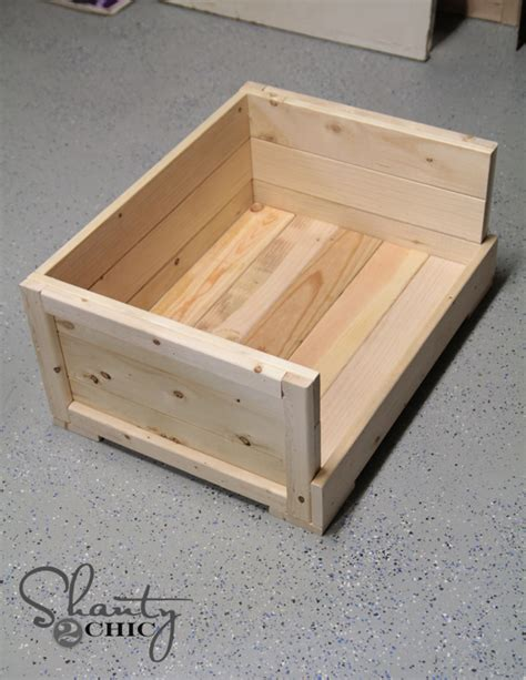 woodworking plans wood dog bed diy  plans