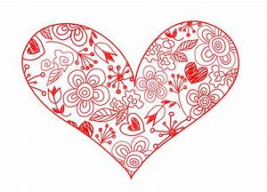Free Hearts Drawing, Download Free Clip Art, Free Clip Art ...