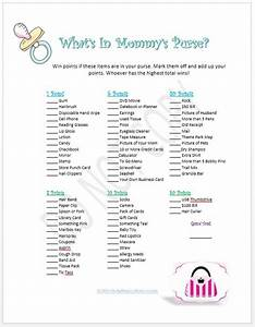 Printable Baby Shower Games - Baby Shower Games In A Box