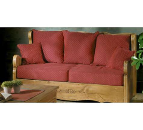 style de canapé canape 2 places tissu alaska 3481