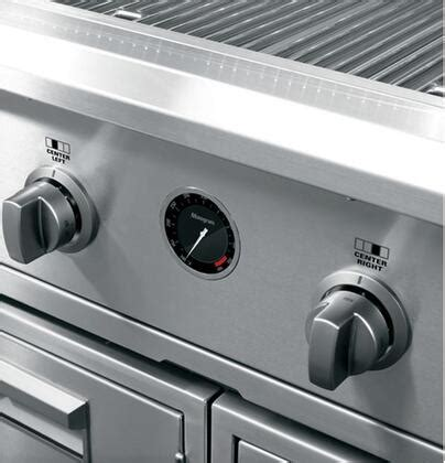 ge monogram zgglcpss freestanding grill  stainless steel appliances connection
