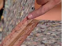 how to install carpet on stairs How to Install a Carpet Runner on Wooden Stairs   how-tos ...