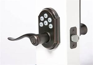 Re key door lock vivint support for Automatic door lock for home