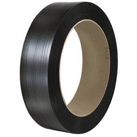 core    black polyester strapping  gauge