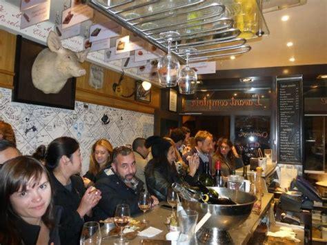 comptoire cuisine around the kitchen bar at l 39 avant comptoire picture of l