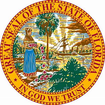 Florida Seal State Svg Vector Flags