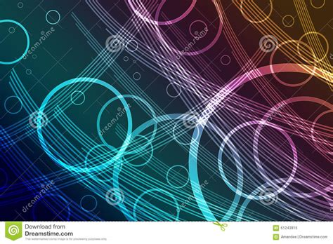 abstract background design with colorful transparent