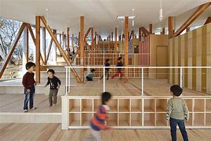 Hakusui Nursery School / Yamazaki Kentaro Design Workshop ...