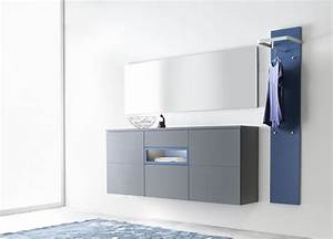 Garderoben Set Grau : fabiola aus der kollektion letz garderobe in grau blau garderoben sets online kaufen ~ Markanthonyermac.com Haus und Dekorationen