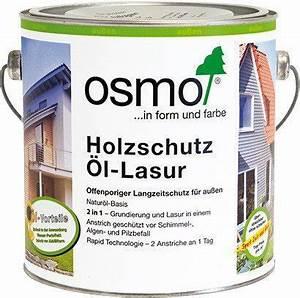 Osmo Douglasien öl : osmo holzschutz l lasur tannengr n preisvergleich ab 60 63 ~ Buech-reservation.com Haus und Dekorationen