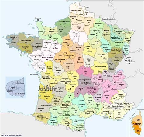 Ville De Carte by Carte Departements Avec Villes The Best Cart