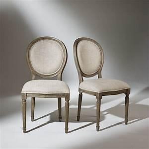 Chaise Medaillon But : chaise m daillon en lin 2 pi ces ~ Teatrodelosmanantiales.com Idées de Décoration