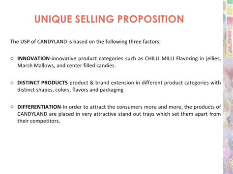 Unique Selling Proposition Resume Exles by Strategic Marketing Planning