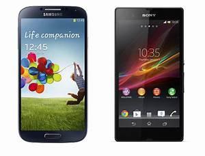 Samsung Galaxy S4 vs Sony Xperia Z | comparison review ...