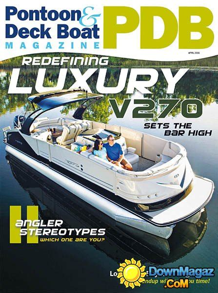 Deck Boat Magazine by Pontoon Deck Boat April 2016 187 Pdf Magazines