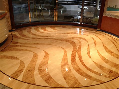 Custom Flooring, Custom Floor Design And Custom Stone And