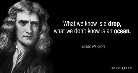isaac newton quote      drop   dont