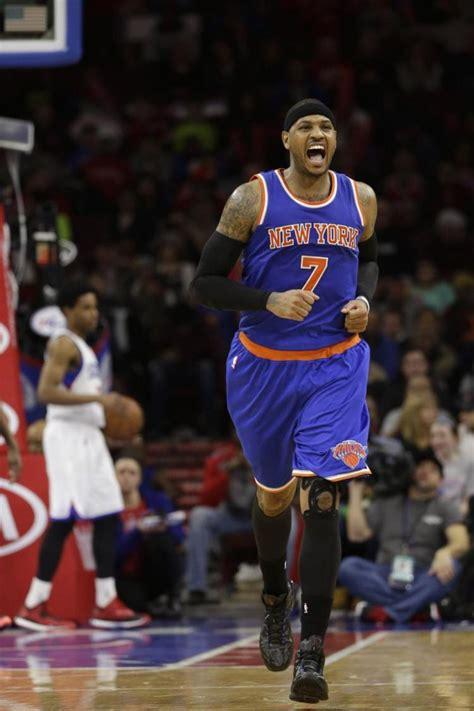 Isola Knicks' Future Depends On Carmelo Anthony Ny