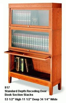 Hale Bookcase by Hale Bookcases Series 800 Solid Wood Book Shelves