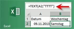 Stichprobengröße Berechnen Excel : excel 39 wochtenag berechnen 39 das kompendium ~ Themetempest.com Abrechnung