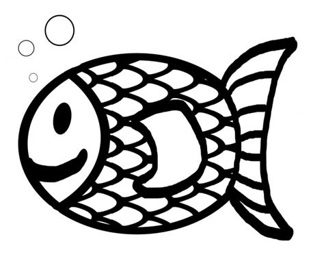 goldfish clipart black and white fish outline clipart black and white clipart panda